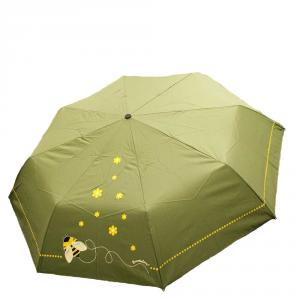 Braccialini - Ombrello mini verde con stampa ape cod. BC805/1