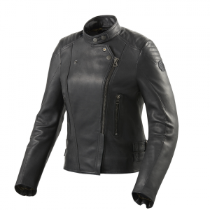 Giacca moto donna pelle Rev'it Erin Ladies Nero
