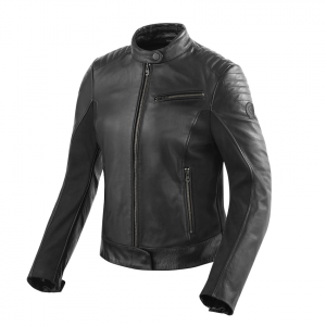 Giacca moto donna pelle Rev'it Clare Ladies Nero