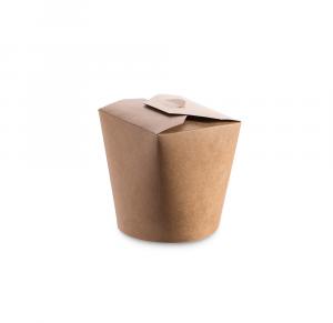 Noodle box contenitore asporto avana - 400ml