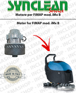 IMx B SYNCLEAN Vacuum MotorCLEAN for scrubber dryers FIMAP