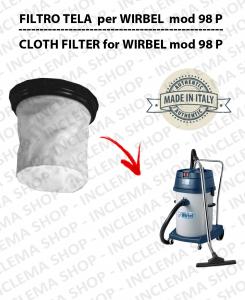 98 P Filtre Toile pour aspirateur WIRBEL
