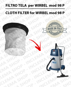 98 P Canvas Filter for vacuum cleaner WIRBEL