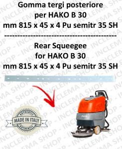B 30 Hinten sauglippen für scheuersaugmaschinen HAKO