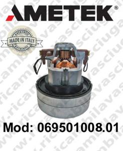 069501008.01 Saugmotor AMETEK ITALIA für Scheuersaugmaschinen und Staubsauger