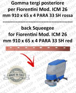 goma de secado trasero para fregadora FIORENTINI mod. ICM 26