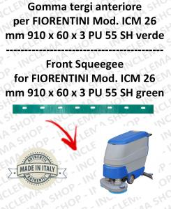 goma de secado delantera para fregadora FIORENTINI mod. ICM 26