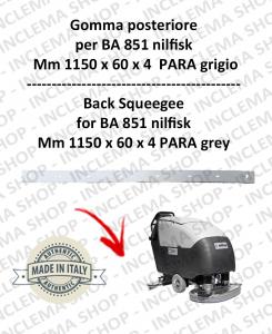 BA 851  - Bavette arrière pour autolaveuses NILFISK