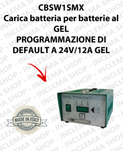 CBSW1SMX 12V-24V 12A carica batterie para batterie al GEL