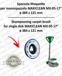 BROSSE MOQUETTE pour monobrosses MAXICLEAN MX-05 17