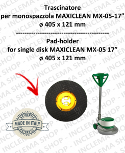 TRASCINATORE for single disc MAXICLEAN MX-05 17