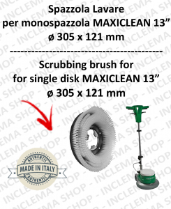 Standard Brosse PPL 0,6 pour monobrosses MAXICLEAN MX-05 13