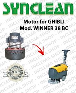 Motore aspirazione Synclean per Lavapavimenti Ghibli WINNER 38 BC
