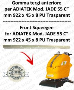 JADE 55 C Vorne sauglippen für scheuersaugmaschinen ADIATEK