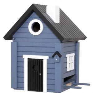 Casa per uccelli / WG118 - Multiholk casetta blu