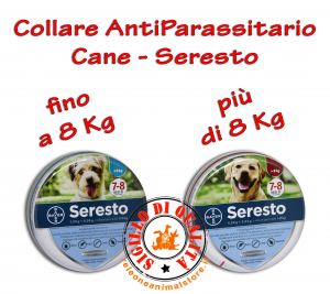 Collare Antiparassiti per Cani Seresto® - Bayer