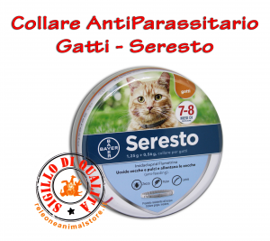 Collare Antiparassiti Per Gatti Seresto - Bayer