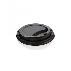 Coperchi biodegradabili per bicchieri asporto 360ml nero