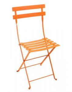 Fermob sedia pieghevole Bistro - Metal - color Carota