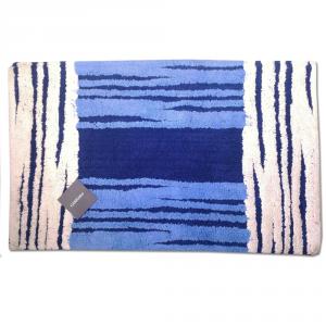 Tappeto da bagno in spugna 50x80 cm Carrara MANCHESTER blu