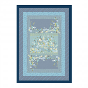 Bassetti Plaid Granfoulard 135x190 cm AMARILLA v.3 blu regalo originale