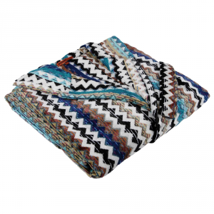 Accappatoio Missoni Home cappuccio chevron ZIG-ZAG multicolor 170 PAUL - S