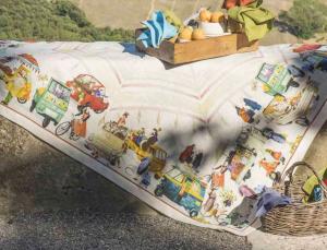 Tovaglia rettangolare 170x270 cm Tessitura Toscana DOLCE VITA puro lino