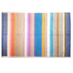 Missoni Home VIVIETTE 100 tappeto bagno 60x90 cm righe multicolori