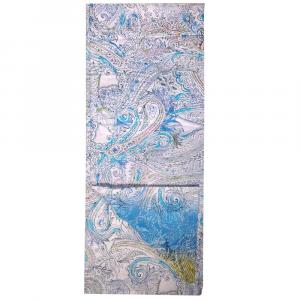 Bassetti Dream foulard telo arredo MOTION v.3 blu puro cotone 180x270 cm