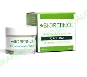 BIO RETINOL REMA ANTIRUGHE OCCHI ANTIBORSE ANTIOCCHIAIE CON CAFFEINA