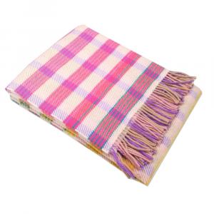 Missoni Home plaid con frange 130x180 cm TIZIANO 100 pura lana