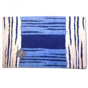Tappeto da bagno in spugna 70x110 cm Carrara MANCHESTER blu