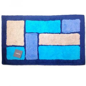 Tappeto da bagno in spugna 70x110 cm Carrara BRISTOL blu