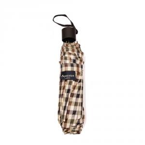 Aquascutum - Ombrello piccolo con impugnatura in plastica nero cod. AQ 08