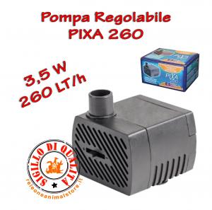 Pompa Sommersa Per Acquario Pixa 260 3,5W