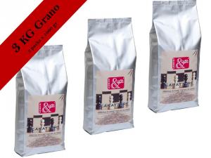 CAFFE' GRANO 3 x gr 1000