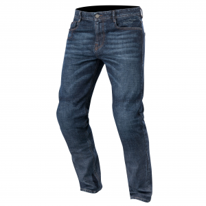 JEANS MOTO ALPINESTARS DUPLE DENIM PANTS ROUGH BLUE
