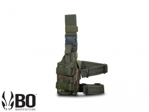 EXTREME OPS 188 TACTICAL LEG HOLSTER - WOODLAND DIGITAL