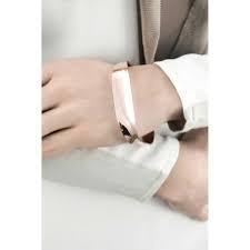 bracciale rigido breil liquid acciaio ip rosè