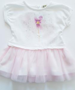 Vestito neonata 3-24 mesi con tulle