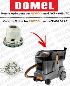 VCP 480 E-L AC MOTORE ASPIRAZIONE DOMEL per aspirapolvere PROTOOL