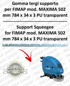 MAXIMA 502 Unterstützung Sauglippen für scheuersaugmaschinen FIMAP