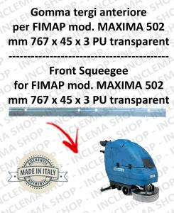 MAXIMA 502 goma de secado delantera para fregadora FIMAP