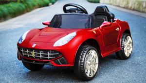 Ciervo  CS00025 Ferrari hl1078 con radiocomando, lettore MP3 e giostra stop