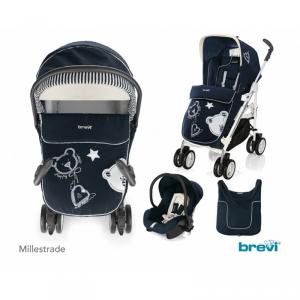 Brevi 759/627 trio completo Millestrade col Blu