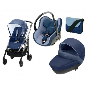 Bebeconfort  trio completo Loola colore dress blu