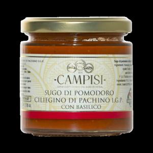 Sugo di Pomodoro Ciliegino di Pachino IGP con Basilico - 220gr