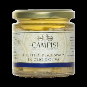 Filetti di Pescespada in Olio di Oliva- 220gr