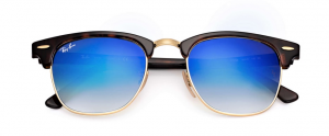 Rayban Rb 3016 Clubmaster Flash Lenses Gradient