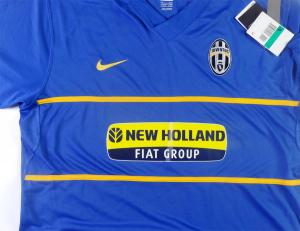 2007-08 Juventus Maglia Away #10 Del Piero XL *CARTELLINO